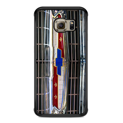 1956 Chevrolet Grill Emblem Samsung Galaxy S6 Edge Plus Case