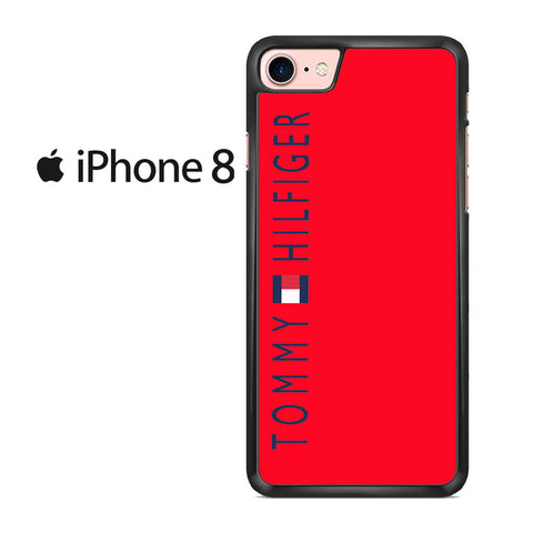 Tommy Hilfiger Red Iphone 8 Case