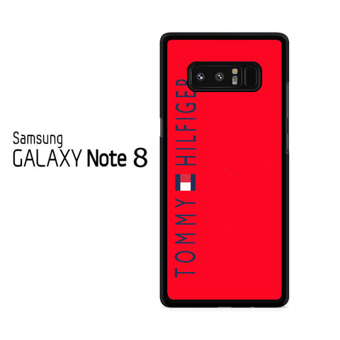 Tommy Hilfiger Red Samsung Galaxy Note 8 Case
