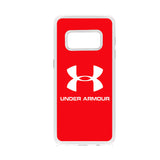 Under Armour Red Logo Samsung Galaxy S8 Case