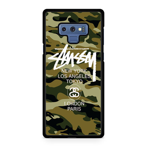 Stussy Camouflage Army Samsung Galaxy Note 9 Case
