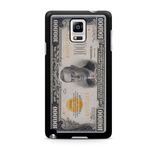 100K Dollar Samsung Galaxy Note 4 Case