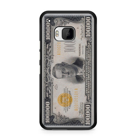 100K Dollar HTC One M9 Case