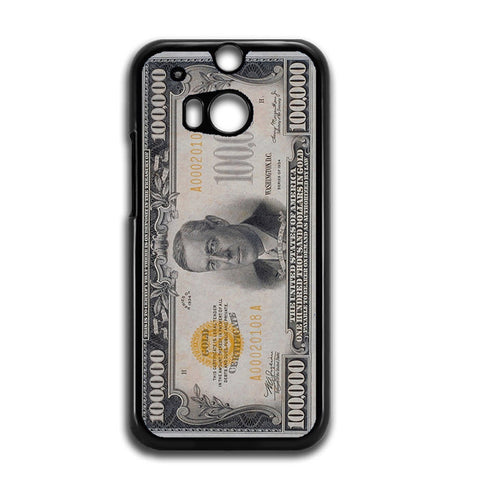 100K Dollar HTC One M8 Case