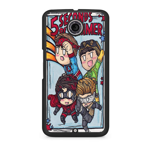 5 Seconds Of Summer Hero Nexus 6 Case