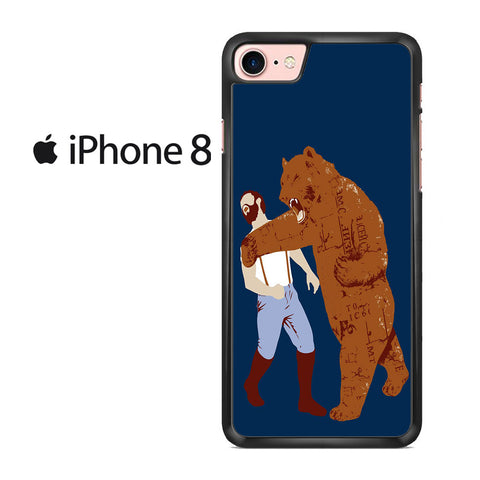 The Bear Strikes Back Men's Iphone 8 Case
