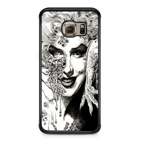 Zombie Marilyn Monroe Tattoo Samsung Galaxy S6 Edge Case