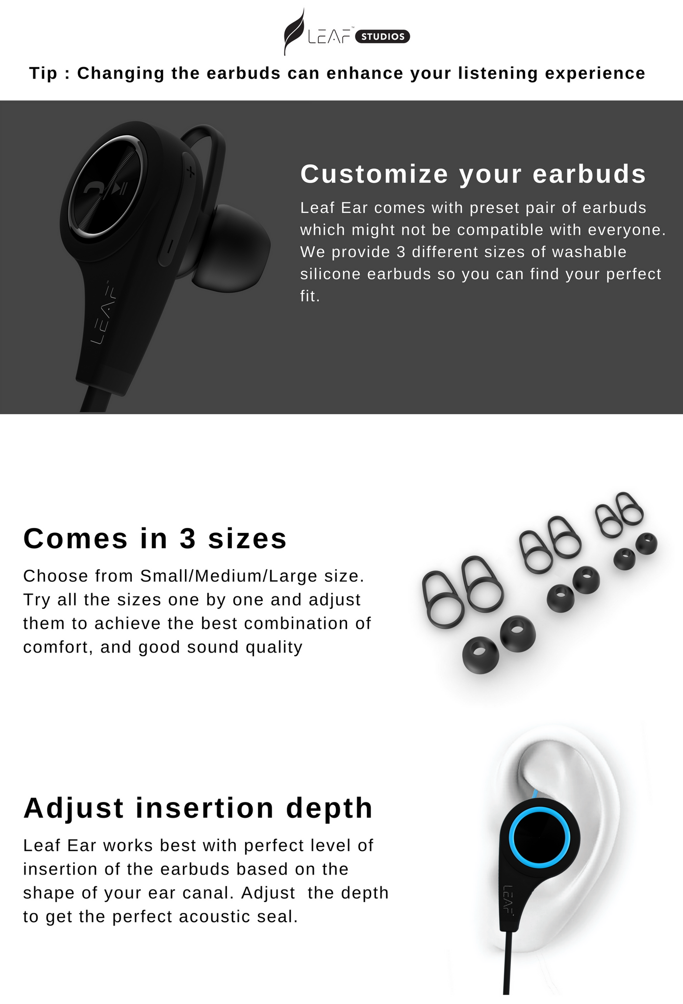 customize earbuds