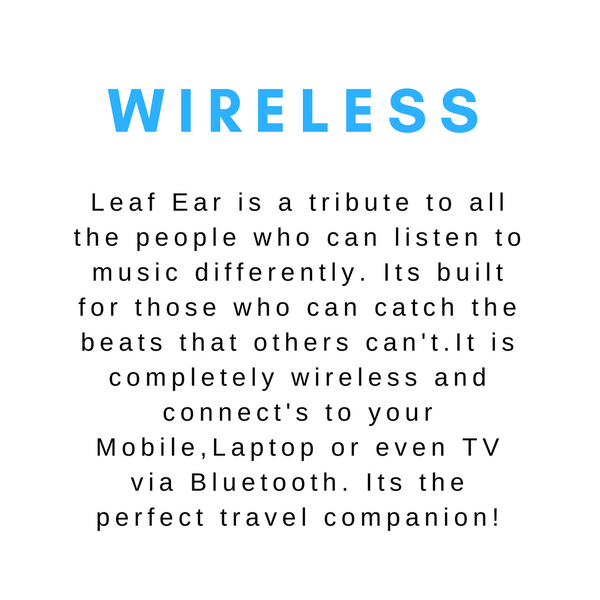 wireless leaf ear