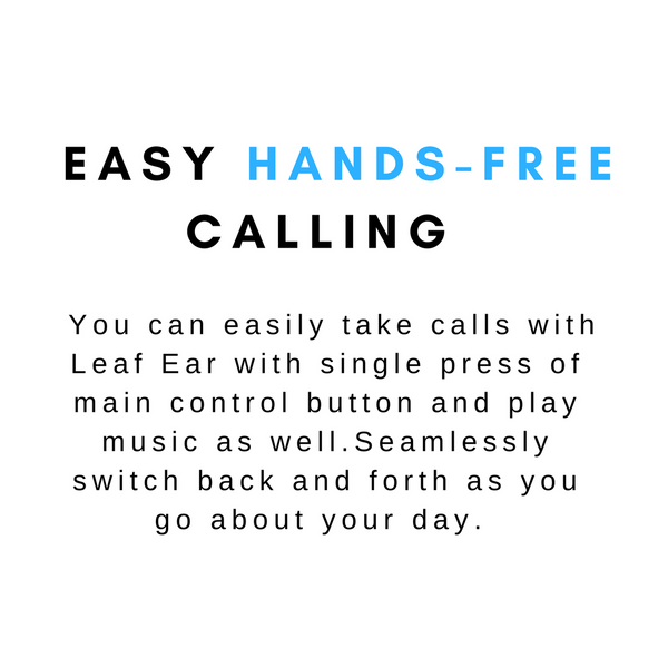 Easy hands free calling