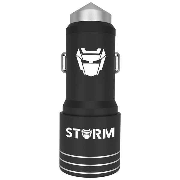 Combo: Leaf Storm Mobile Car Charger(Metal) + Storm Aux Cable - Leaf Studios