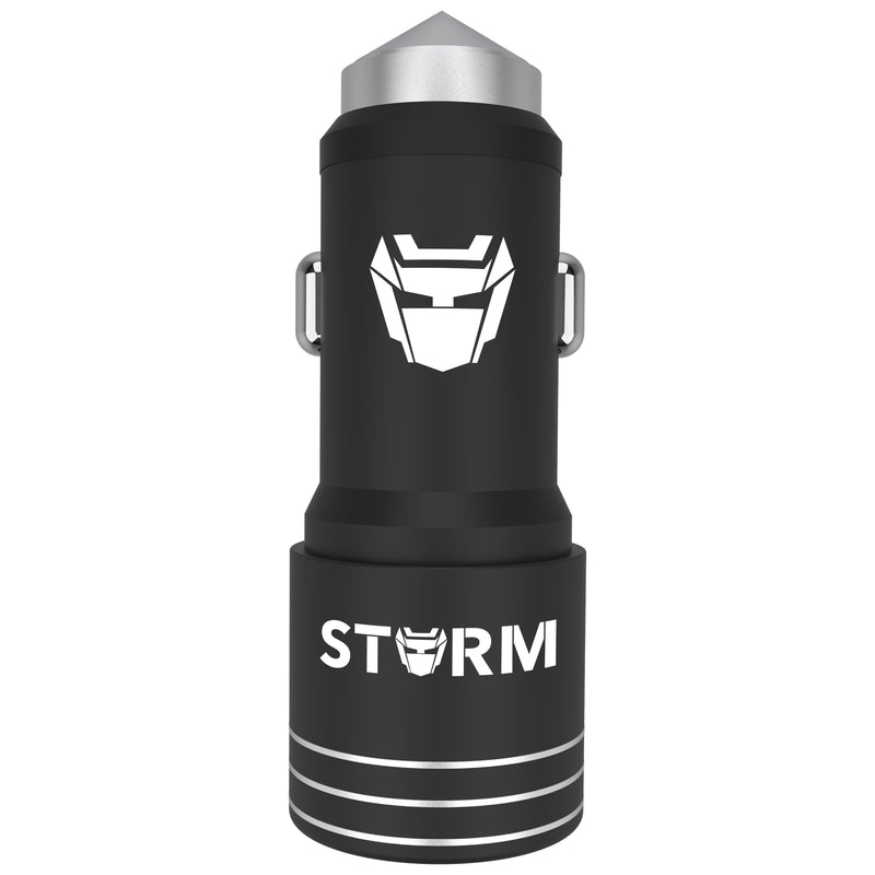 Leaf Storm Mobile Car Charger(Metal) - Leaf Studios