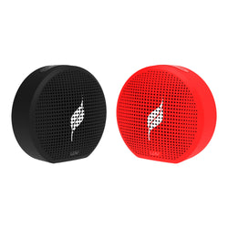 Combo Offer : 2 Leaf Pop Speakers (Carbon Black + Ferrari Red)
