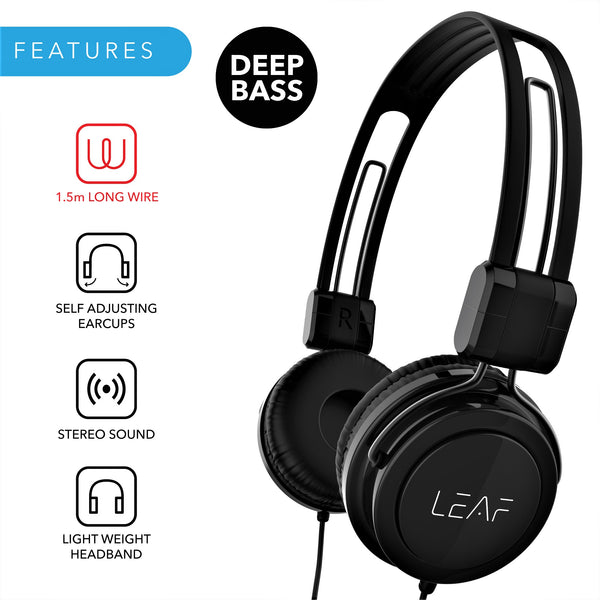 Leaf Rock Wired Headphones - Leaf Ear