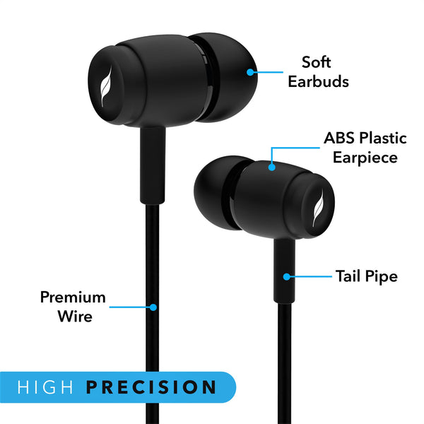 Leaf Basic Wired Earphones - Leaf