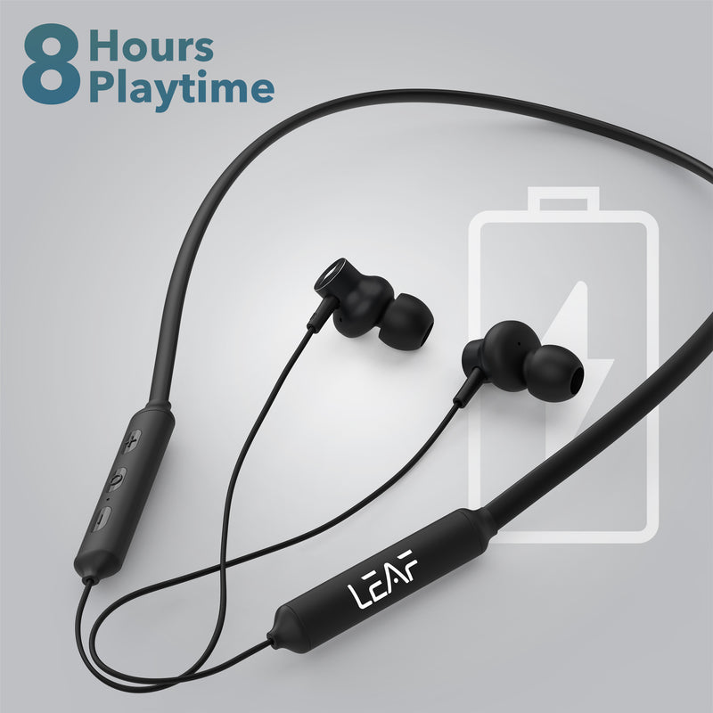 Leaf Flex Wireless Neckband Earphones - Leaf