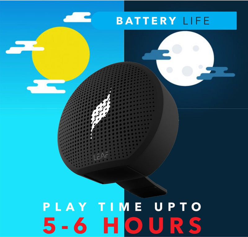 Leaf Pop- Wireless Bluetooth Speaker with Mic - Leaf Ear