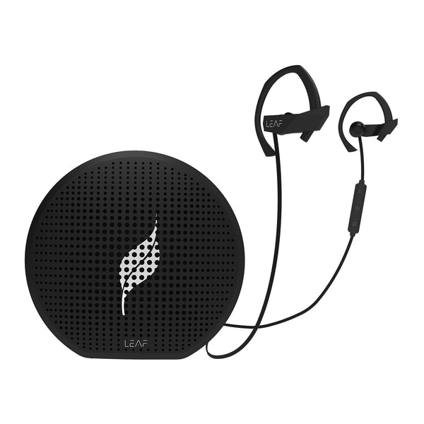 Combo Offer : Leaf Pop (Black) + Leaf Sport - Leaf Ear