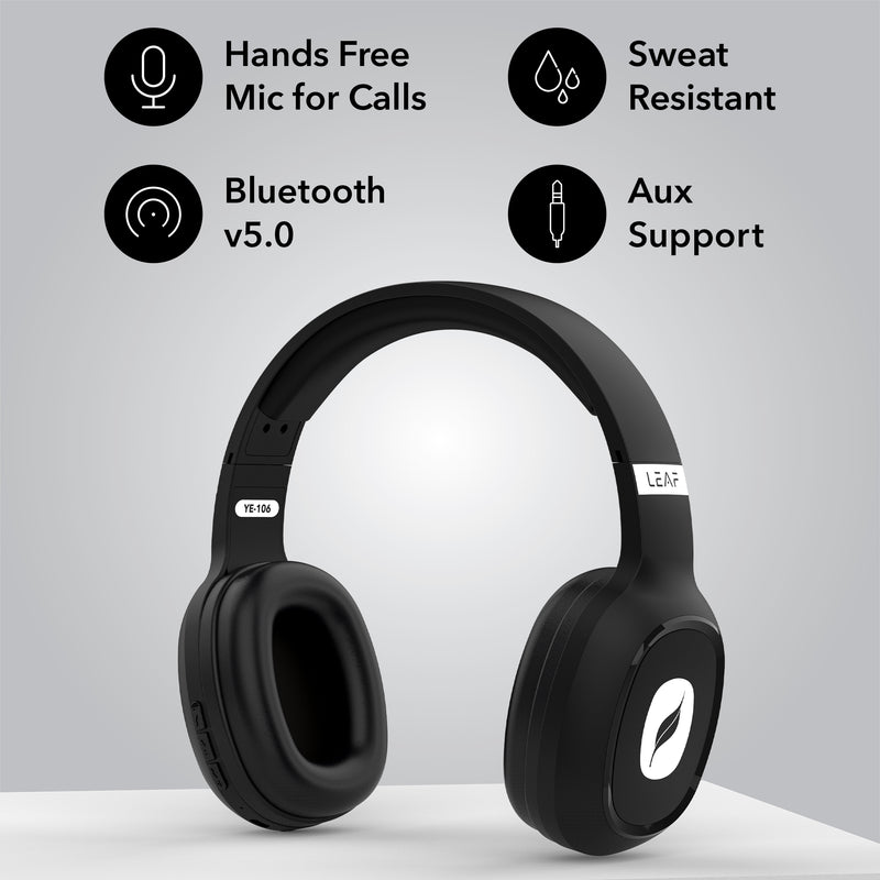 Leaf Bass Wireless Bluetooth Headphones - Leaf Studios