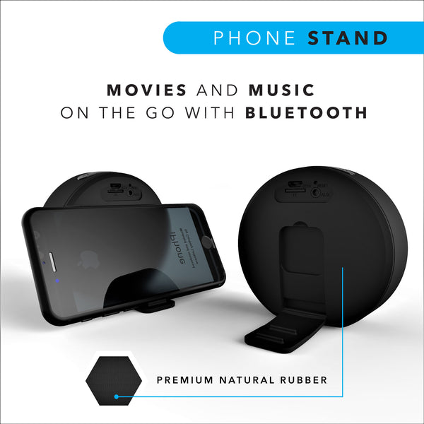 Combo Offer : 2 Leaf Pop Speakers (Carbon Black + Ferrari Red) - Leaf