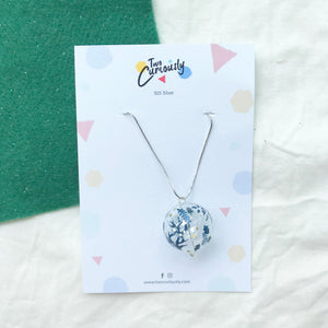 Christmas bubble necklace
