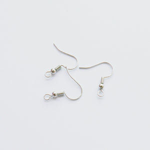 Silver Fish Hook (10 pcs)