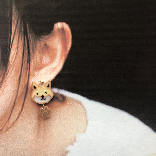Singapore Special (pointy ears) custom two tiers earrings