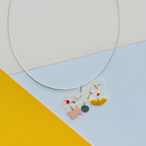 Colourful Sundae Necklace