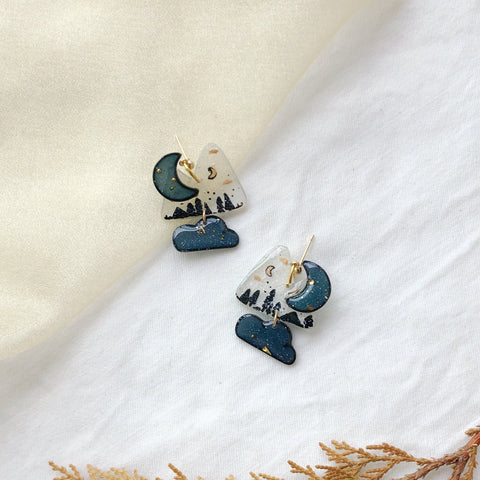 Winter Mountain (clouds charms)