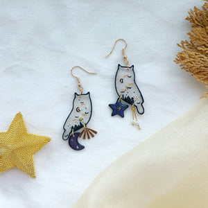 Winter Owls (mismatch charms)