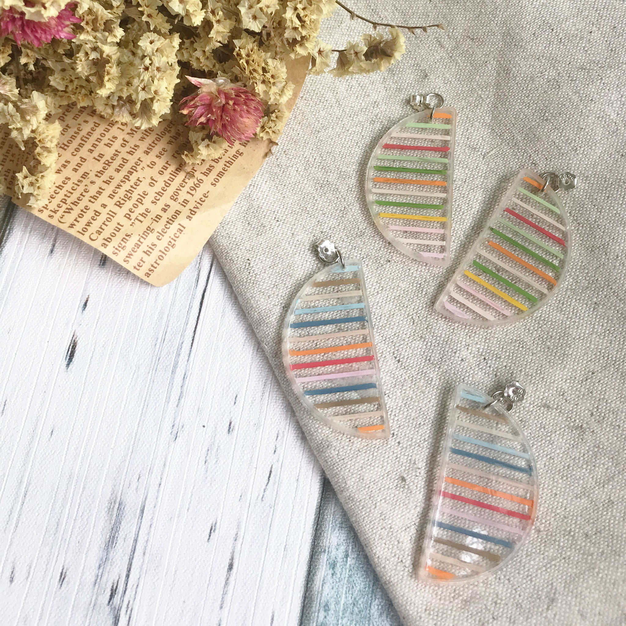Mix and Match earrings (925 Silver)
