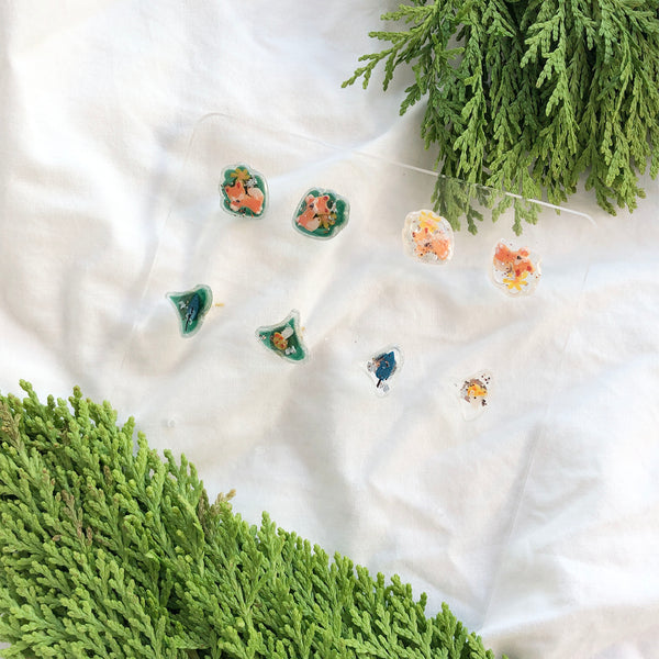 Forest Adventure studs 狐狸x森林探險耳釘 (preorder)