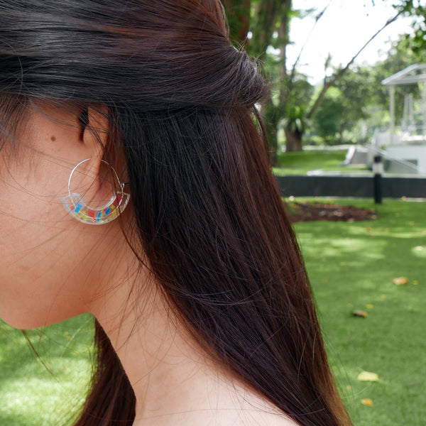 Rainbow earrings for everyone!