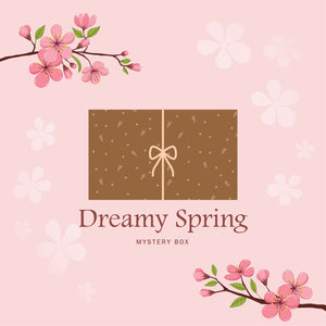 [Preorder] Dreamy Spring Mystery Box 4 - Earrings set (with bracelet / hair clip)