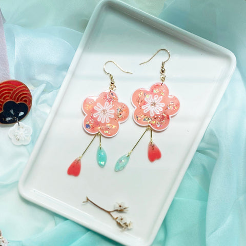 Biweekly special: Dreamy Spring Mystery Earrings