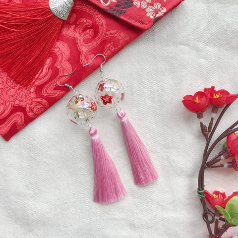 The Bloom bubbles (with pink tassels)