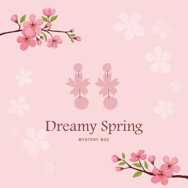 [Preorder] Dreamy Spring Mystery Box 1 - Earrings