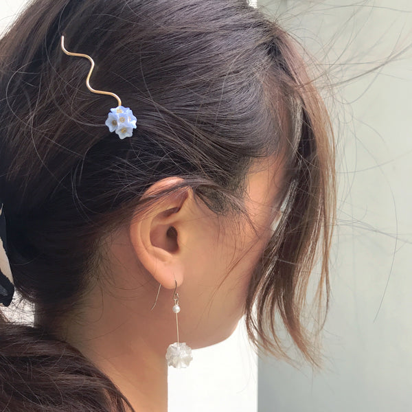 Pure Love Mini Flower Hair Pins