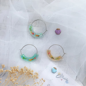 Sea Moon hoop