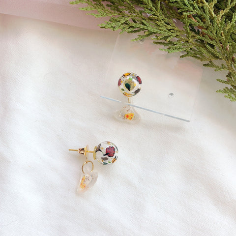 Mini Magical Autumn bubbles studs