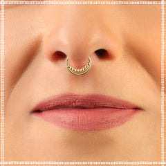 14k Gold Septum Hoop