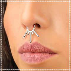 Spikes Septum Ring