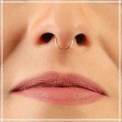 Dainty 14k Nose Ring