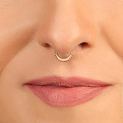 Unique Septum Ring