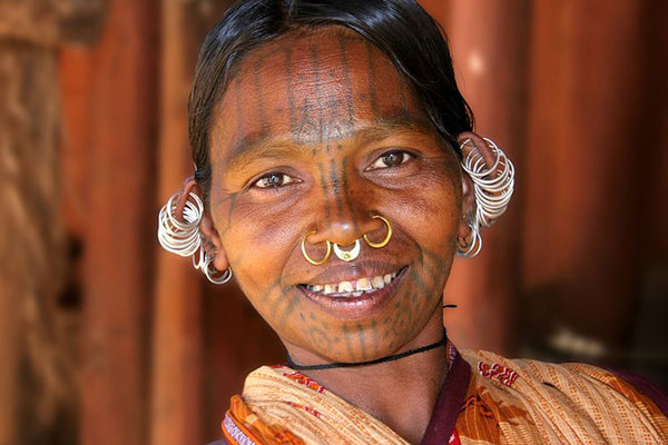 Tribal Septum Piercing
