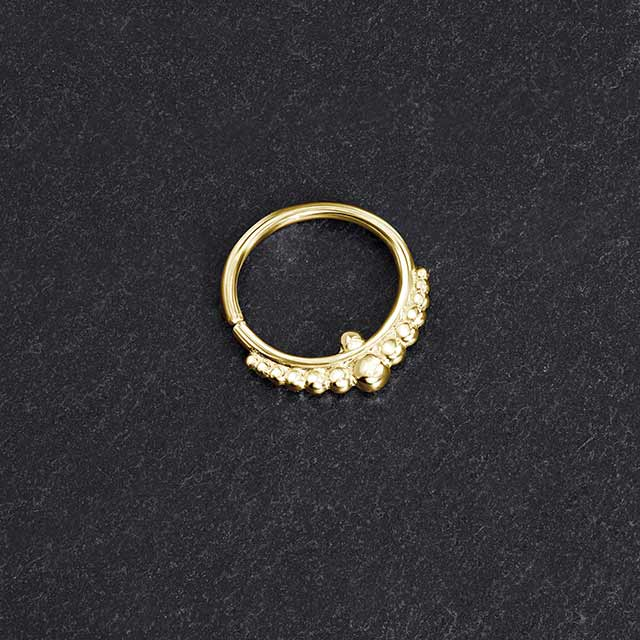 Gold Nose Hoop | Pata Pata Jewelry