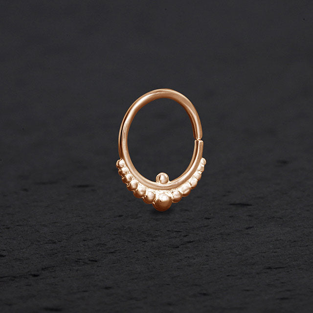 Gold Septum Ring | patapatajewelry