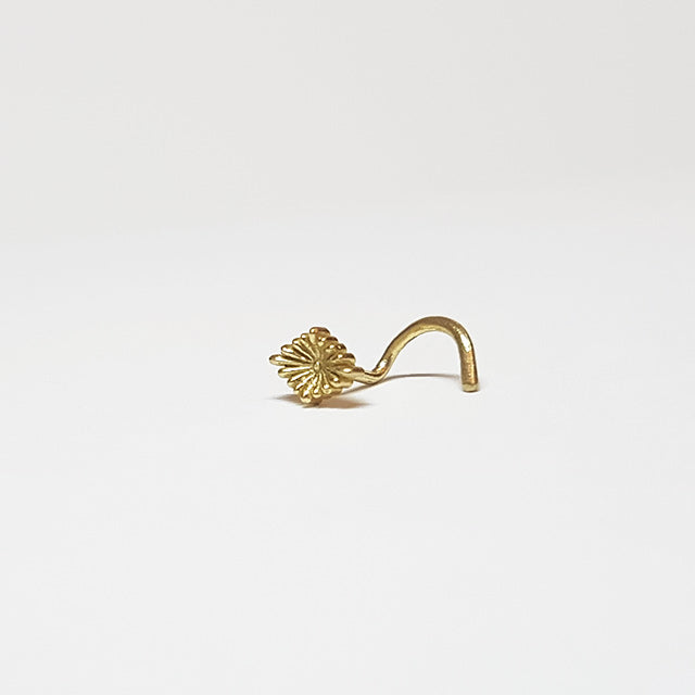 20g gold nose pin stud