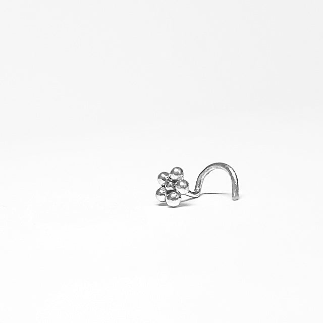 Tiny nose stud silver 20g