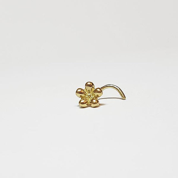 20 gauge nose stud pin gold